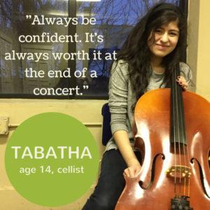 Student Spotlight - Tabatha
